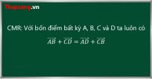 Các lời giải tiêu biểu của cuộc thi giải toán vectơ (P2)