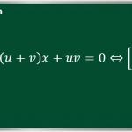 Cách nhẩm nghiệm phương trình bậc hai