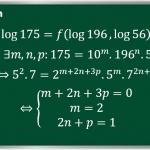 Cách tính một logarit theo các logarit đã cho (Phần 2)