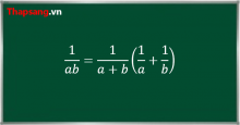 Tìm nguyên hàm bằng cách phân tích nghịch đảo của một tích thành tổng các nghịch đảo