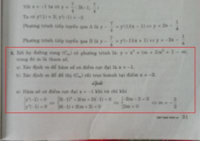 Sai lầm ở đâu trong lời giải này?