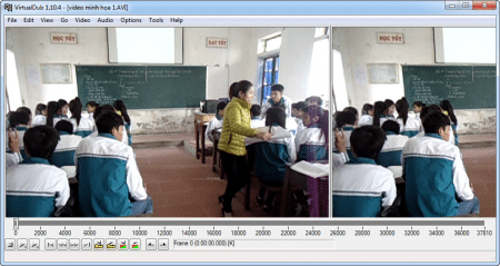 Hình ảnh file video AVI được chọn