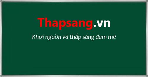 Thapsang.vn: ĐAM MÊ- một trong những yếu tố cơ bản nhất để thành công