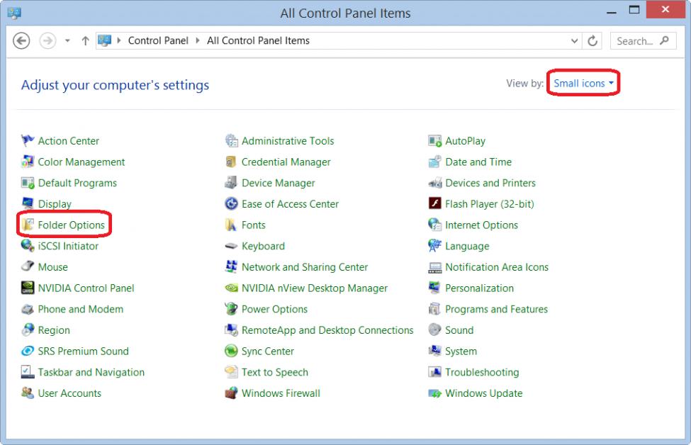 Bật tính năng xem ảnh thu nhỏ trong thư mục trên Windows Server 2012